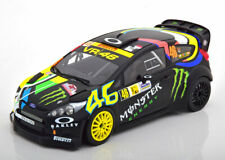 1:18 Minichamps Ford Fiesta RS WRC Winner Monza Rally Show Rossi 2012
