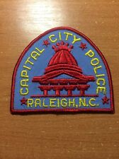 PATCH POLICE RALEIGH - NORTH CAROLINA NC state