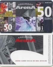 Arenakaart A104-03 50 euro: Zomer 2009