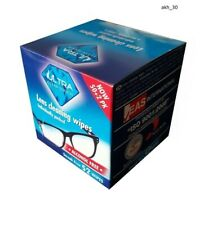 ULTRA CLEAN TOUCH LENS WIPES, GLASSES CLEANING WIPE 52 WIPES INDIVIDUALLY PACKED