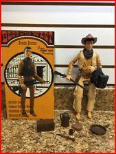 Marx Johnny West Custom CXR Jesse James with accessories and Box