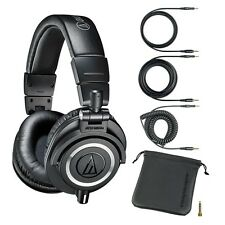 Audio-Technica ATH-M50x Professional Monitor Headphones Black NEW