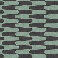Stof Retro Vibes (4500-486), Green Quilting Fabric, Per 1/4 Metre