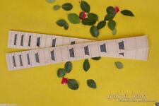 "Yinfente 2x electric Guitar Fretboard maple 22 fret 24.75"" inlay Free Shipping"