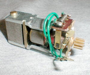 In-Line Avenger Motor 33,600 RPM Strombecker Original 1960s Without Axle Bracket