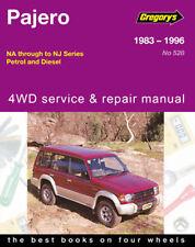 Mitsubishi Pajero Petrol & Diesel 1983-1996 Workshop Manual with MPN GAP05528