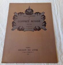 Frontispice de Lunois - Henri de Régnier - le coffret rouge - 1916