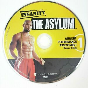 Insanity The Asylum 1 Athletic Performance Assessment Beachbody Replacement Disc