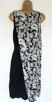 BEAUTIFUL FRENCH CONNECTION DRESS SZ 10 IN VGC! SMART, PAISLEY, BLACK & WHITE