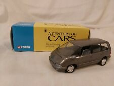 Solido A Century Of Cars 1/43 Scale Renault Espace Grey