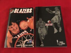 NBA Portland Trail Blazers media guide yearbook / You pick 'em / Box 2020