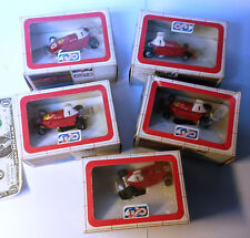 Lot 5 Polistil Pista 1:43 Slot car Track Ferrari F1 312 Niki Lauda DN762 new Box