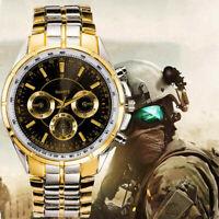 Luxus Herren Sports Outdoor Dress Uhr Edelstahl Analog 2019mode Armbanduhr N6U0