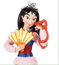 New Disney Store Sketchbook Mulan Christmas Ornament