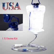 USA Seller Enema Reusable Colon Enema Bag Cleansing Kit Health Care Clinic Home