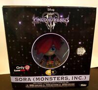 Funko 5-Star Kingdom Hearts 3 Sora Monsters Inc US Gamestop Exclusive NEW