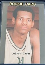 1999 LeBron James Cleveland Cavaliers RC Rookie Promo Rare Has Hair! Goat A