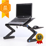 Laptop Portable Desk Adjustable Ergonomic Aluminum Table And Bed Stand Tray