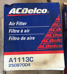 ACDelco A1113C Air Filter 25097004 PA2158 CA3814 A33591 46084