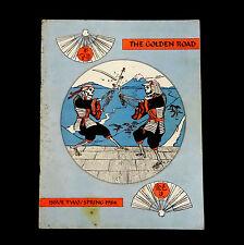 Grateful Dead The Golden Road Magazine 1984 Spring # 2 Phil Lesh Samurai Swords