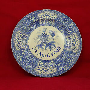 Spode - The Royal Wedding Commemorative Charger Plate 9th April 2005