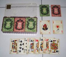 162 Carte Canasta CARPANO Modiano 1951 playing cards Vermuth PROMO Studio Testa