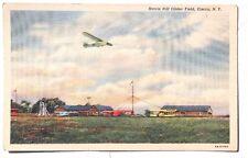 Vintage 1950's Harris Hill Glider Field ELMIRA N.Y (New York) Photo Postcard