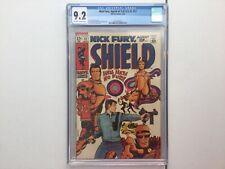 Marvel 1969 Nick Fury Agent of Shield 12 CGC 9.2 Barry W Smith Johnny Craig