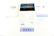Nissan Bluebird 910 march 1982 glove box owners manual others in folder