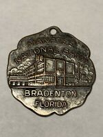 Vintage Manatee National Bank of Bradenton Florida Key Fob
