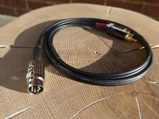 Latching 5 Pin Din To RCA/Phono Cable Interconnect For Naim 4m