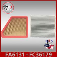 Auto1tech Engine & Cabin air filter COMBO for 2010-2017 Chevy Equinox 2.4L