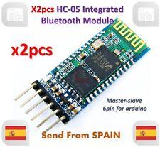 x2pcs HC-05 Integrated Bluetooth Module Wireless Serial Port Module HC05 Arduino
