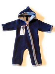 NEU Stapf Baby-Overall Schneeanzug Wolle warm temperaturausgleichen 56 62 ABVERK