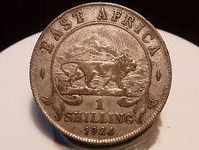 BOIS2(5) - EAST AFRICA - 1 SHILLING - 1924 - QUALITE TB+ !