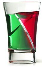 More details for 60 x plastic siptail twister shot glass 30ml double shot glasses