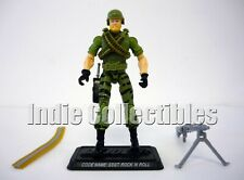 GI JOE SSGT. ROCK 'N ROLL 25th Anniversary Action Figure COMPLETE C9+ v2 2008