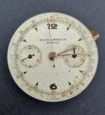 Vintage Original Baume Mercier Cal. Cronograph Landeron 48 For Parts