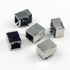 5pcs RJ45 HR911105A Jack connector Network Transformer with LED for HanRun