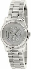 Michael Kors Women's Runway MK3303 Silver Stainless-Steel Quartz Watch
