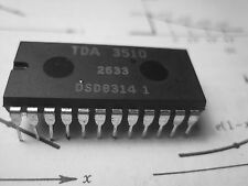 TDA3510 Video decoder-encoder  Circuit .PAL Decoder video ctl Combo  DIP24  1pcs