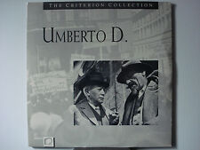 Umberto D Criterion 1955 Foreign Italian Laser Disc NEW Maria Pia Casilio n-Mint