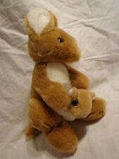 "9"" Kangaroo Joey Australia Mom Baby Plush Soft Toy Stuffed Animal"