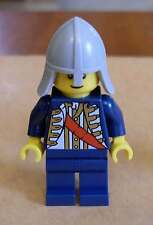 Lego Ritter Figur blau mit hellgrauemHelm Figuren Castle Burg ( 9349 ) Neu