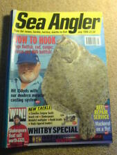 SEA ANGLER - WHITBY SPECIAL - July 1998