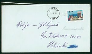 Mayfairstamps Finland 1969 Parkand to Helsinki Modern Building Cover wwo_60179