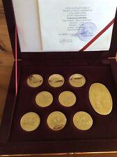 Offizielles Uzbekistan Usbekistan Samarkand Samarqand Souvenir Münzen Set Cu Al