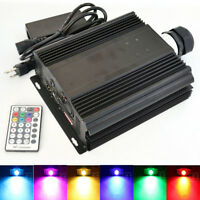 45W RGB DMX LED Fiber Optic Light Engine RF Remote  Color Jump/Fade/Dimmable
