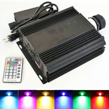 RF Remote RGB DMX LED Fiber Optic Light Engine 45W Color Jump/Fade/Dimmable
