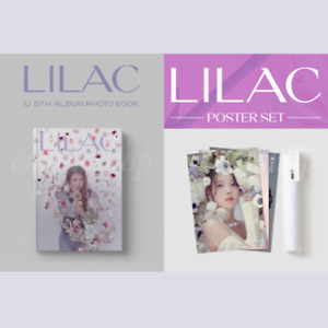 아이유 IU 5th ALBUM [ LILAC ] CONCEPT PHOTO BOOK / POSTER SET - Released 6/21